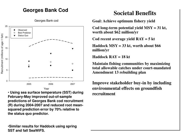 Georges Bank Cod