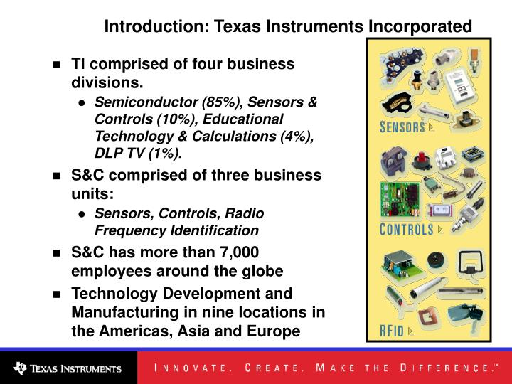 Introduction: Texas Instruments Incorporated