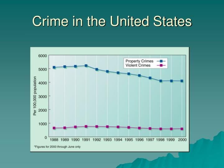Crime in the United States
