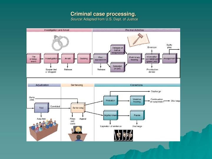 Criminal case processing.