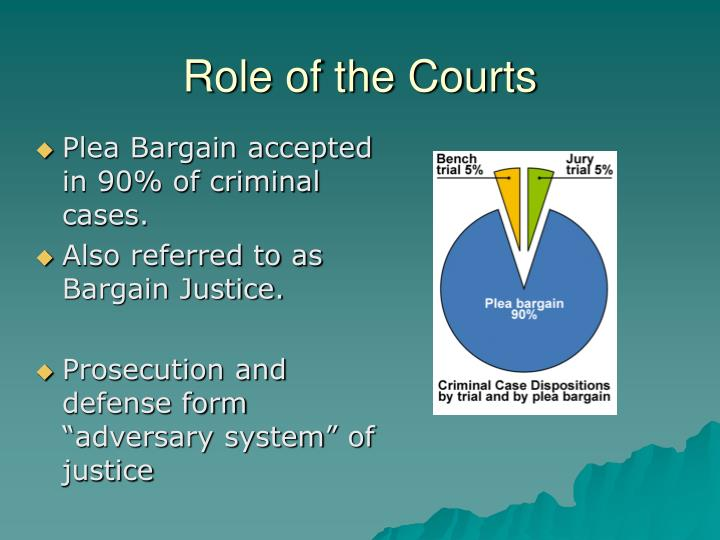 Role of the Courts