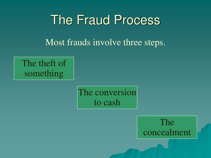 The Fraud Process