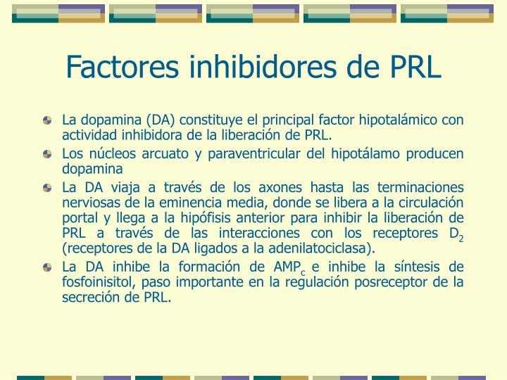 Factores inhibidores de PRL