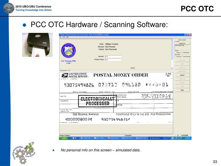 PCC OTC