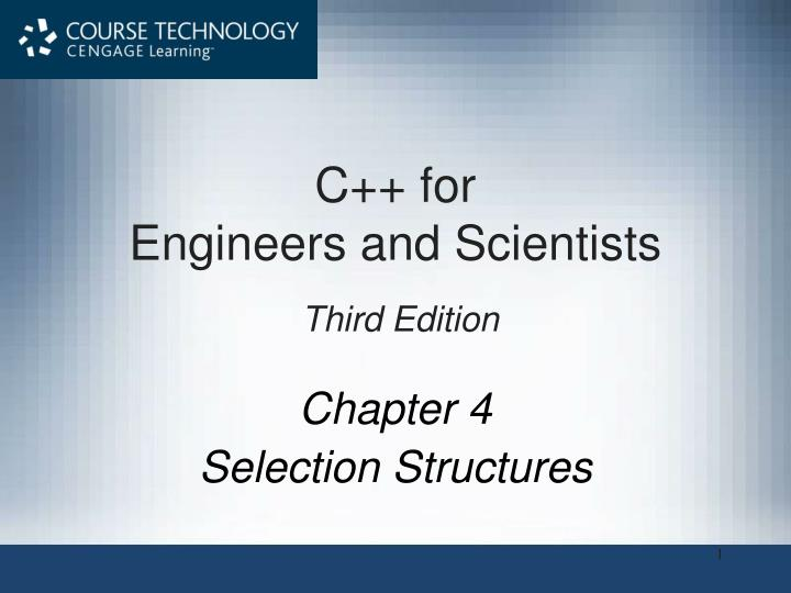 C for engineers and scientists third edition