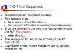 1 d time sequences2