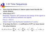 1 d time sequences4