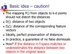 basic idea caution1