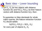 basic idea lower bounding