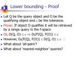 lower bounding proof