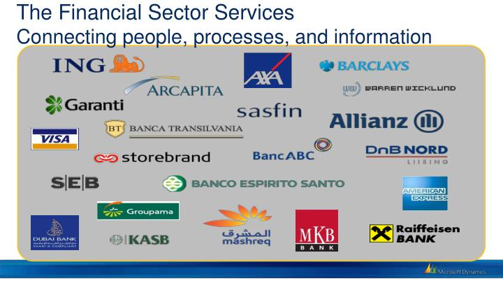 The Financial Sector Services