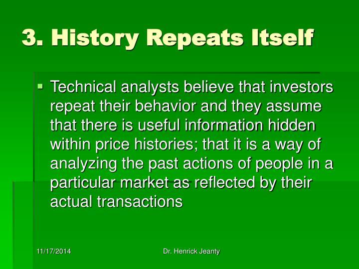 3. History Repeats Itself