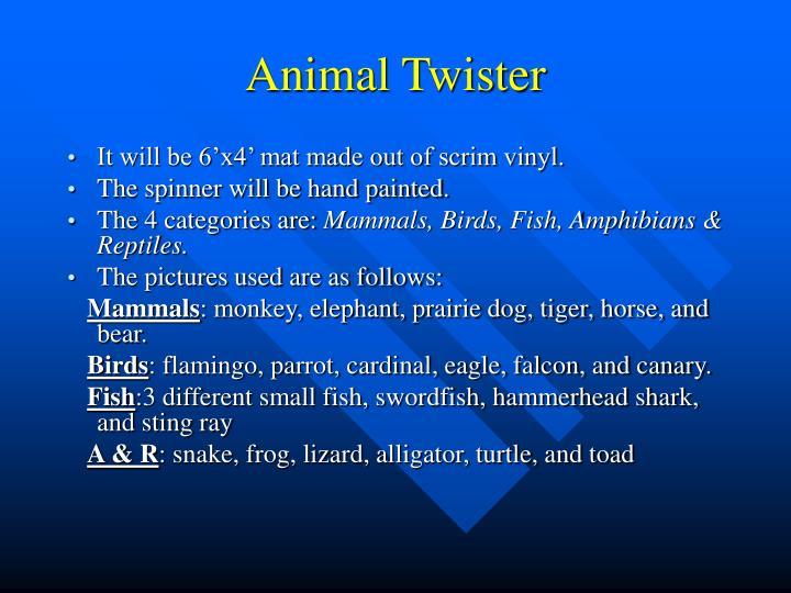 Animal Twister