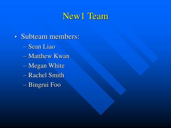 New1 Team