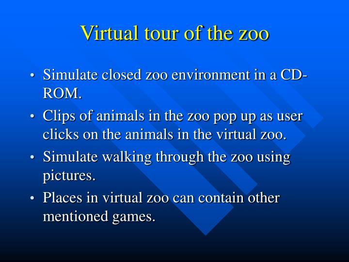 Virtual tour of the zoo