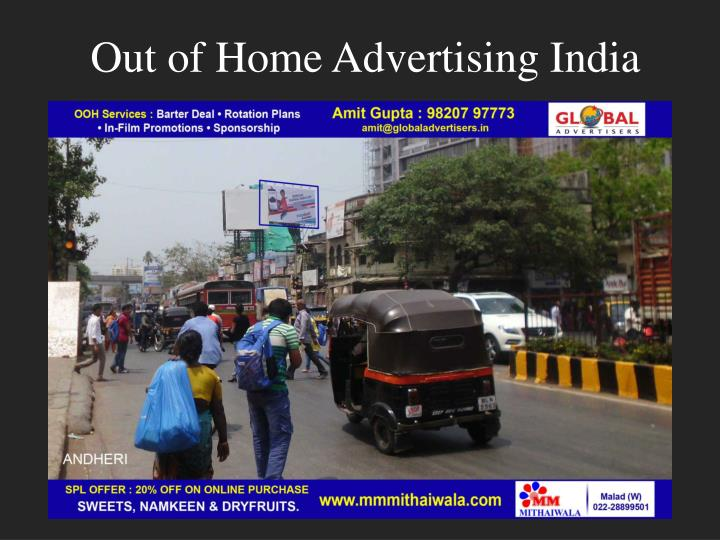 Out of home advertising india