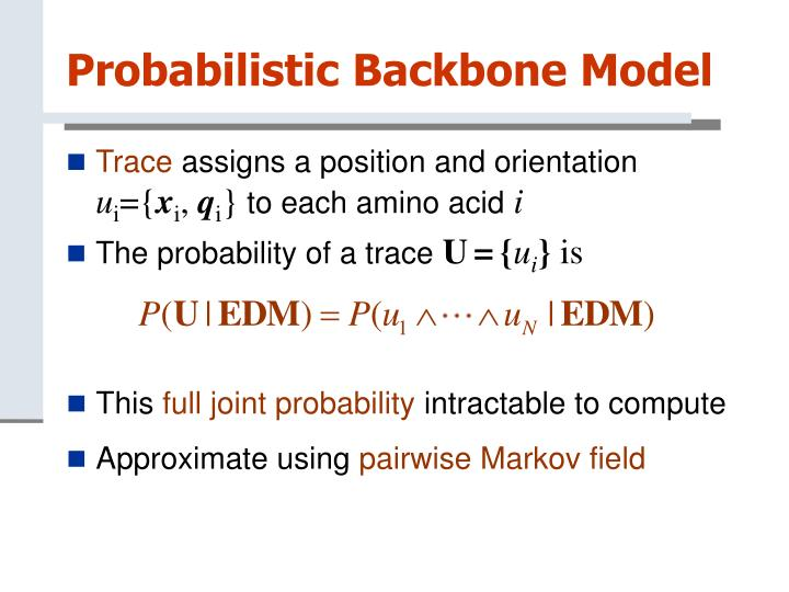Probabilistic Backbone Model