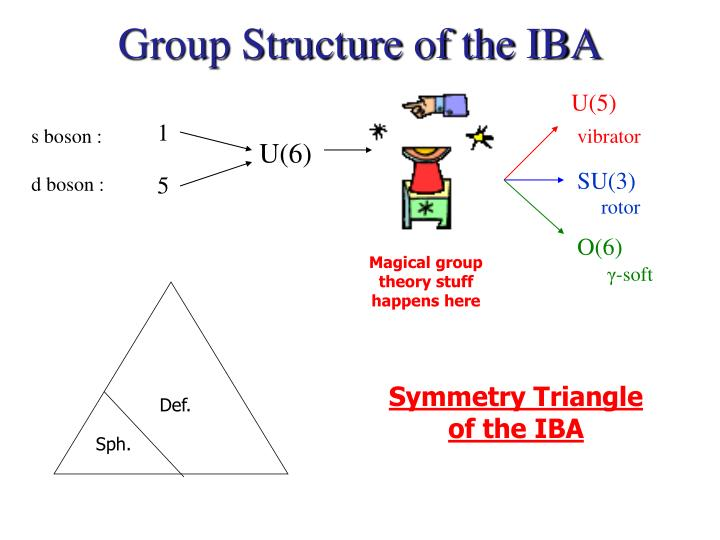 Group Structure of the IBA