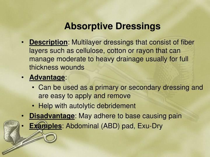 Absorptive Dressings