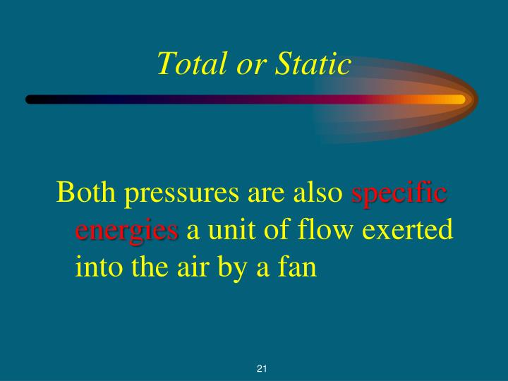 Total or Static