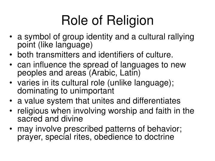 presentation and role of religion in Presentation in due course  as part of a series of seminars on 'the role of religion in promoting peace and communal harmony' that would look at.