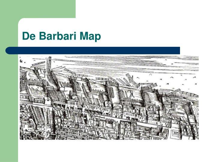 De Barbari Map