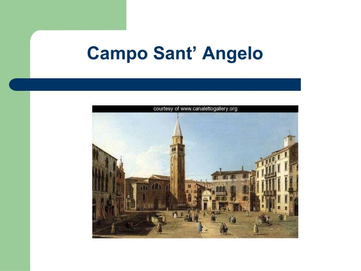 Campo Sant' Angelo