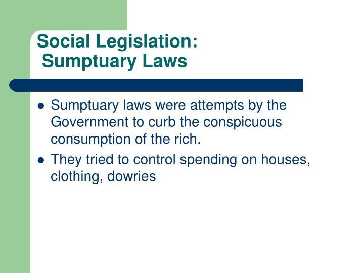 Social Legislation: