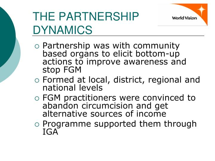 THE PARTNERSHIP DYNAMICS