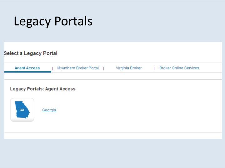 Legacy Portals