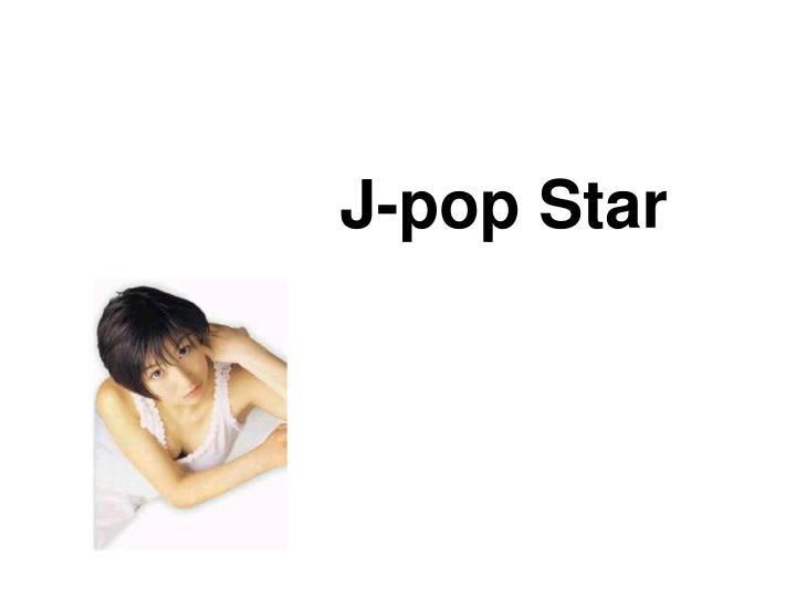 J-pop Star