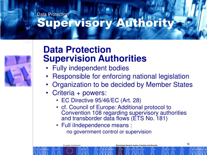 Supervisory Authority