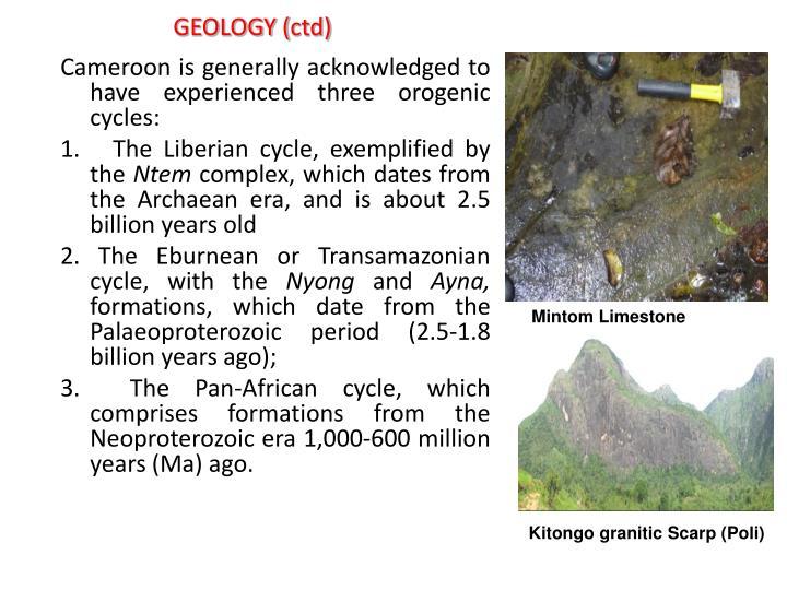 GEOLOGY (