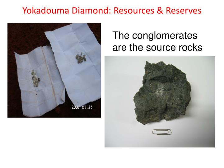 Yokadouma Diamond: Resources & Reserves