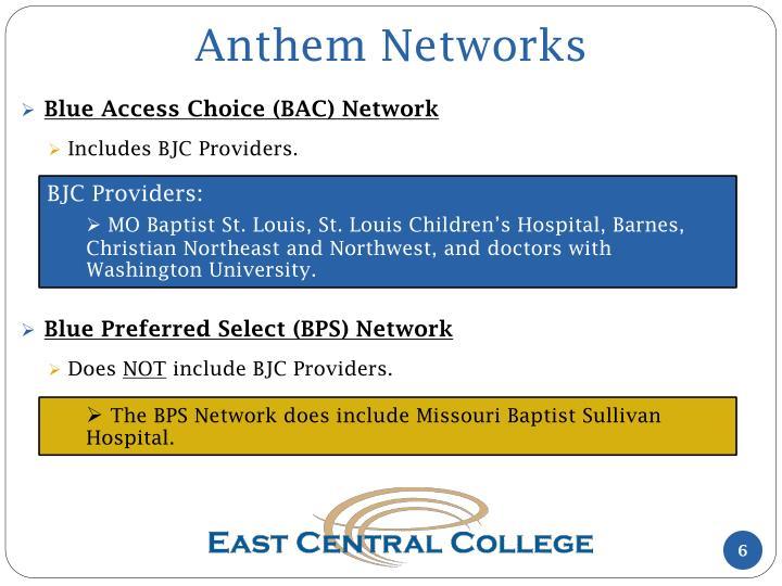 Anthem Networks