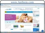www anthem com