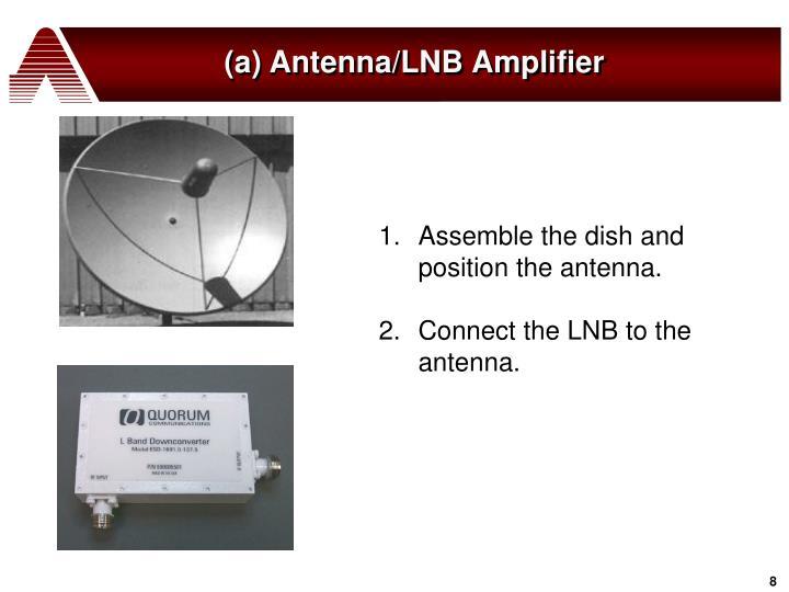 (a) Antenna/LNB Amplifier