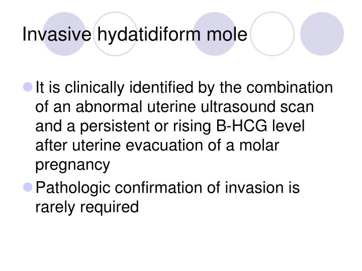 Invasive hydatidiform mole