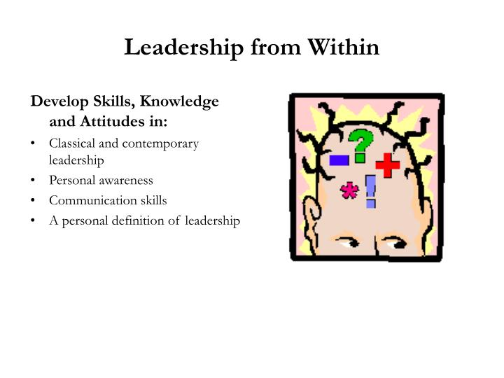 Leadership from Within