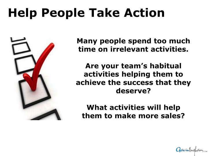 Many people spend too much time on irrelevant activities.