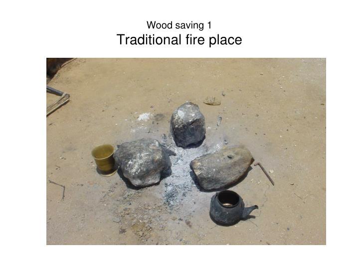 Wood saving 1