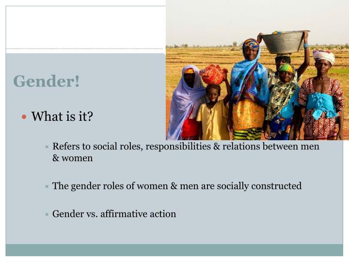 Gender!