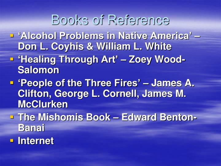 Books of Reference