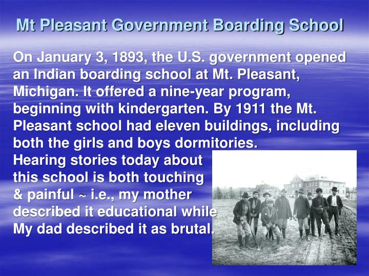 Mt Pleasant Government Boarding School