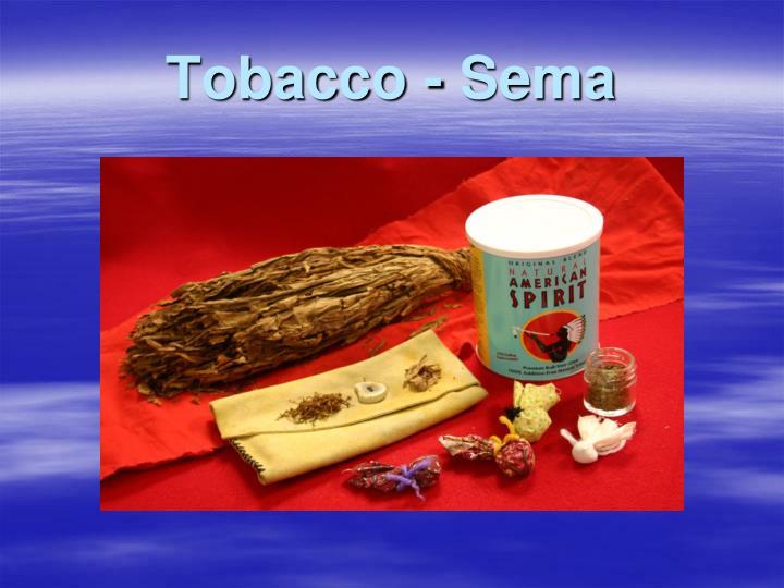 Tobacco -