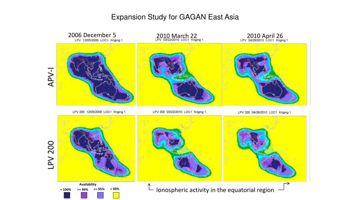 Expansion Study for GAGAN East