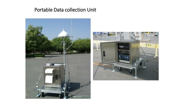 Portable Data collection Unit