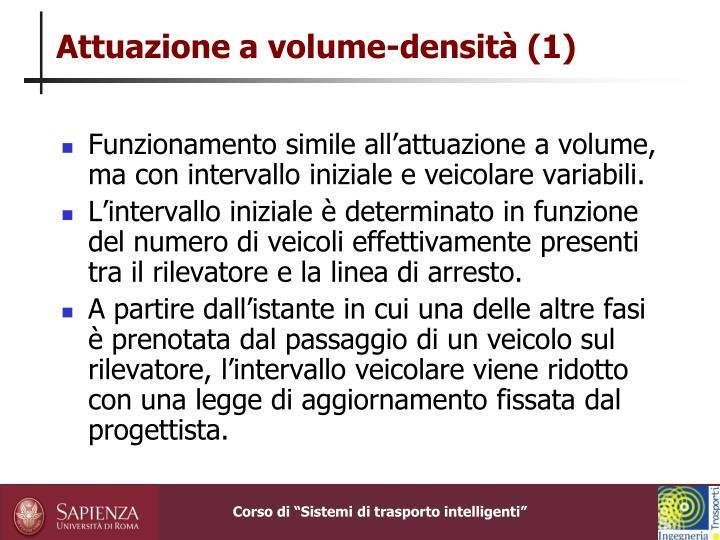 Attuazione a volume-densità (1)