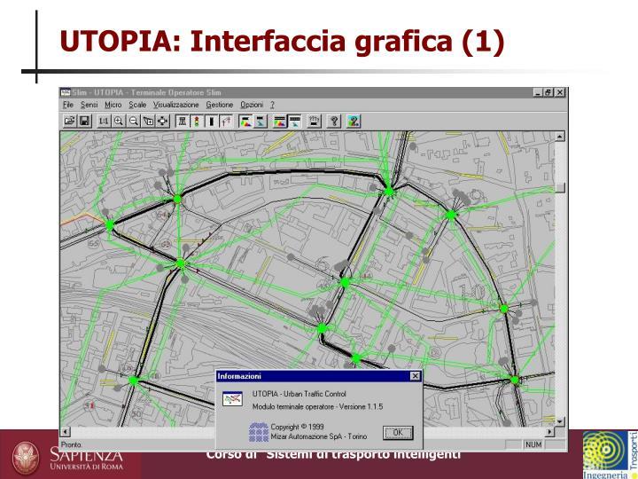 UTOPIA: Interfaccia grafica (1)