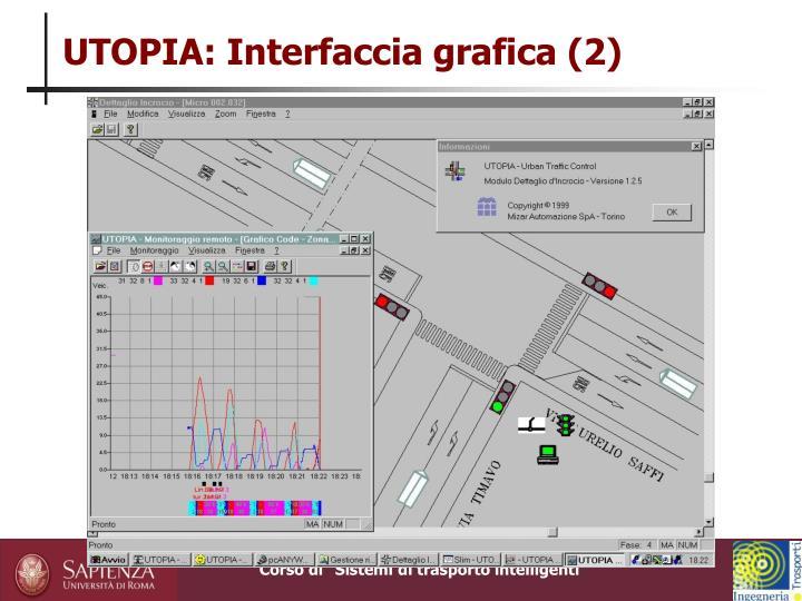 UTOPIA: Interfaccia grafica (2)